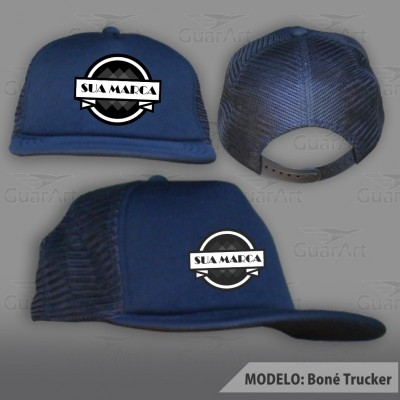 Boné Trucker Exclusivo Personalizado