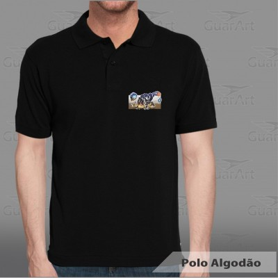 2bffb17b1 Camiseta Polo 50% Algodão / 50% Poliéster Masculina Exclusiva Personalizada
